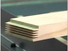 Изготовление погонажных изделий из дерева