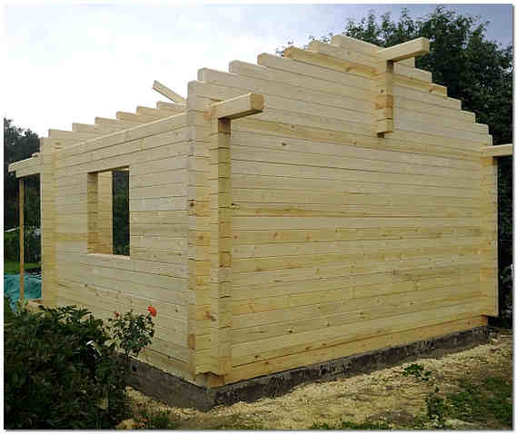 Строительство дома из бруса 140х140 мм