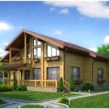 Как построить деревянный дом из бруса