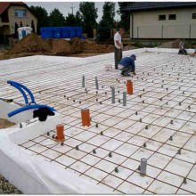 Монолитный фундамент для частного жилого дома малой этажности