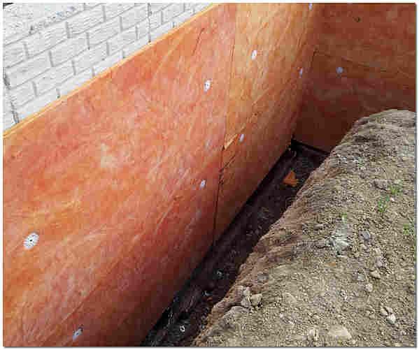 Утепление фундамента дома пенополистирольными плитами