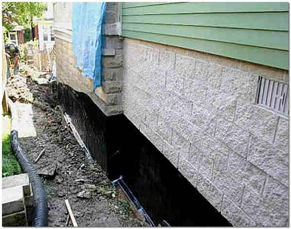 Гидроизоляция фундамента статьи фо чем наносят бетоноконтакт