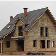 Малоэтажное строительство загородного дома из ракушечника – местного природного материала