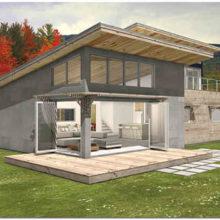 Односкатная крыша: надежное и экономичное сооружение для малоэтажного жилого дома