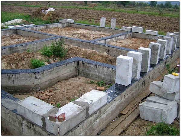 Фундамент для домов из пеноблоков своими руками 569