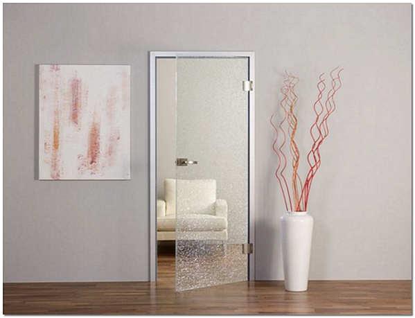 Маятниковые межкомнатные стеклянные двери фото
