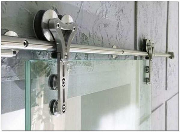 Роликовый механизм для стеклянных дверей