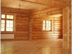Какой пол лучше сделать в деревянном доме