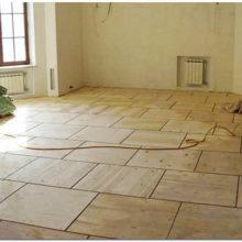 Как выровнять старый деревянный пол под укладку ламината своими руками
