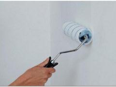 Как правильно грунтовать стены перед поклейкой обоев