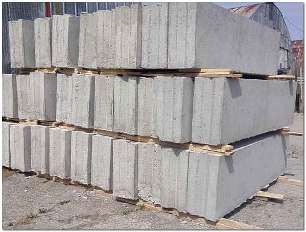Блоки на фундамент фото