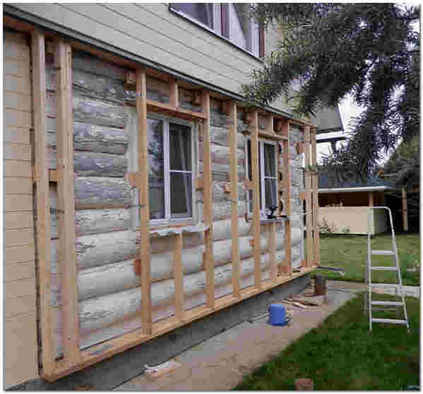 Отделка стен дома снаружи фото