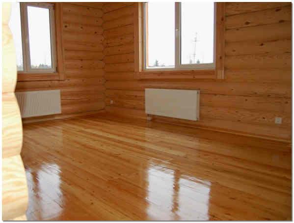 Отделка деревянного дома изнутри фото
