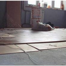 Технология укладки ламината на бетонный пол с подложкой своими руками