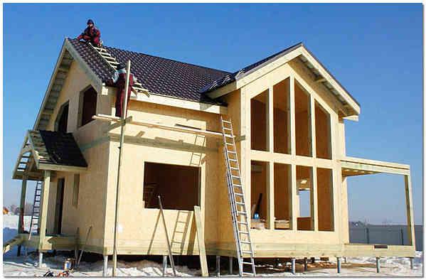 Строительство частного дома под ключ по SIP-технологии