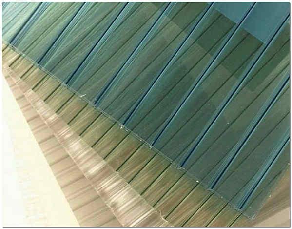 Сотовый ячеистый поликарбонат в листах