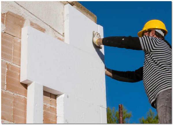 Утепление стены дома листами пенополистирола своими руками