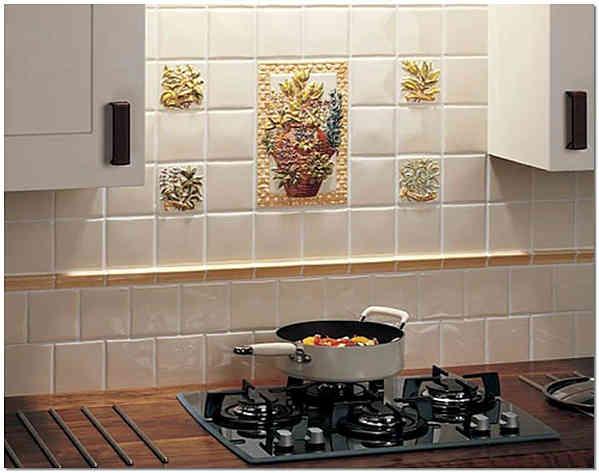 Итальянская керамическая плитка для кухни фото