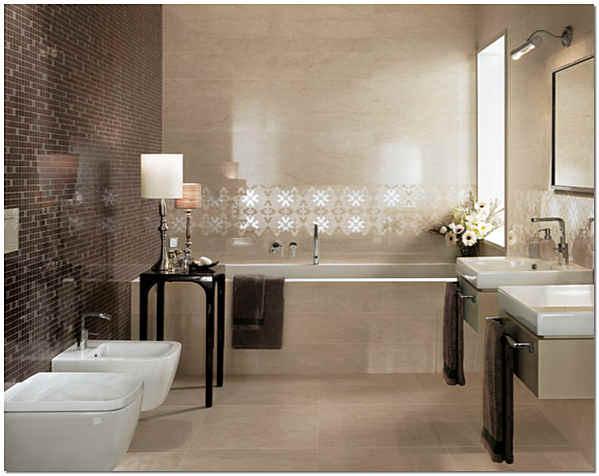 Итальянская керамическая плитка для ванной комнаты
